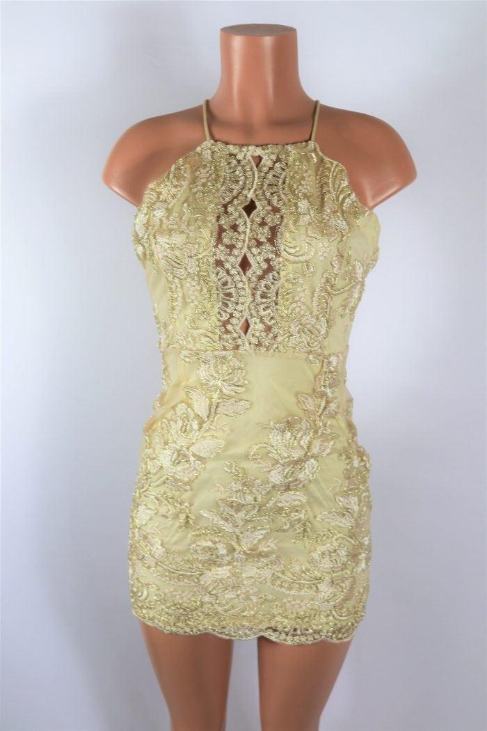 Gold Spoon Dress