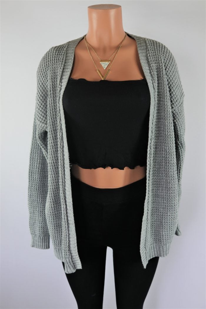 Silver Plated Cardigan