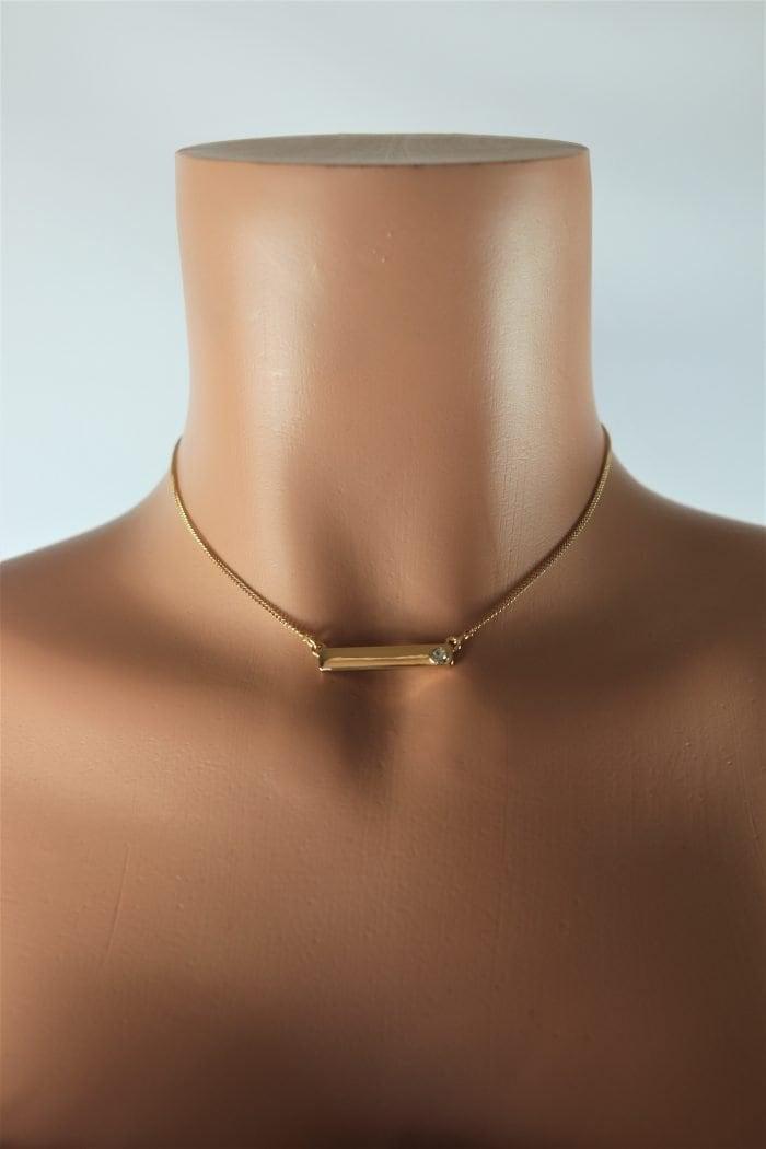 Blade Gem Necklace