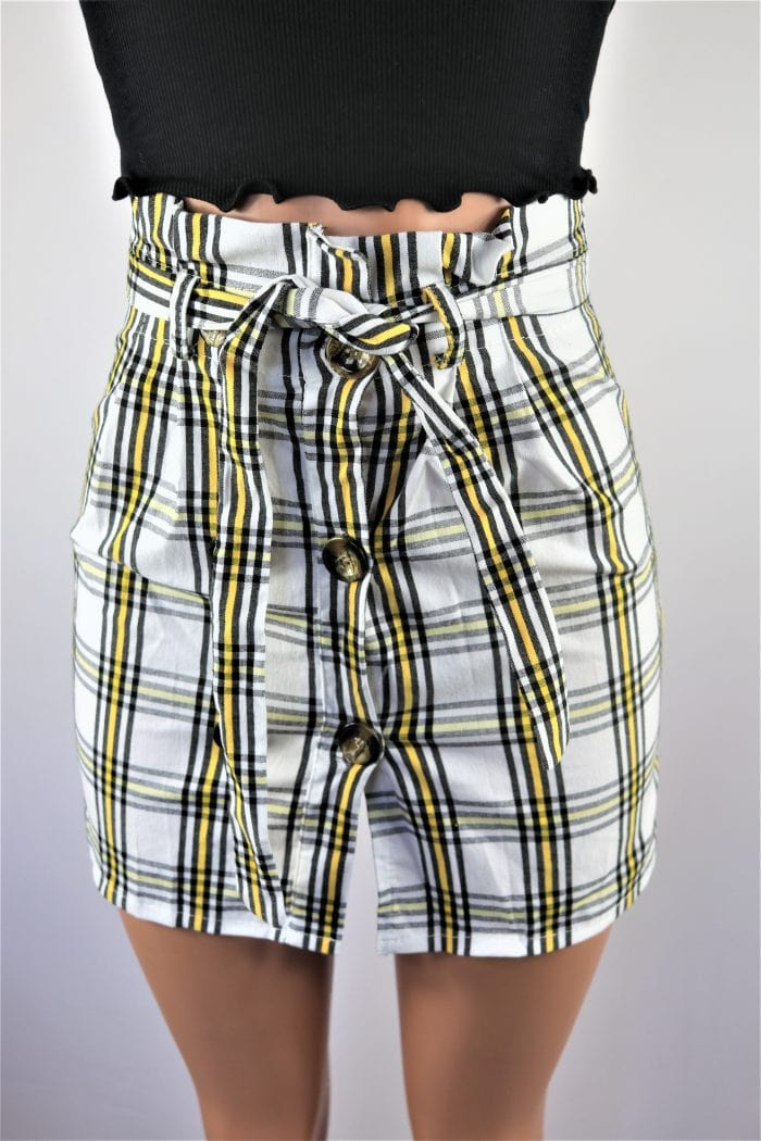 Plaid Bae Skirt