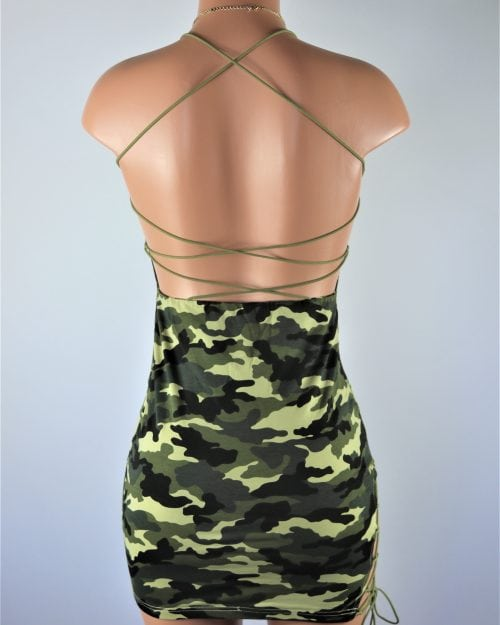 Camo Dress .