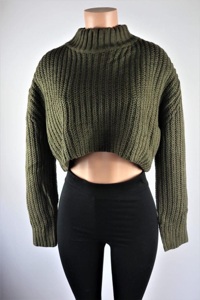 Laura Crop Sweater