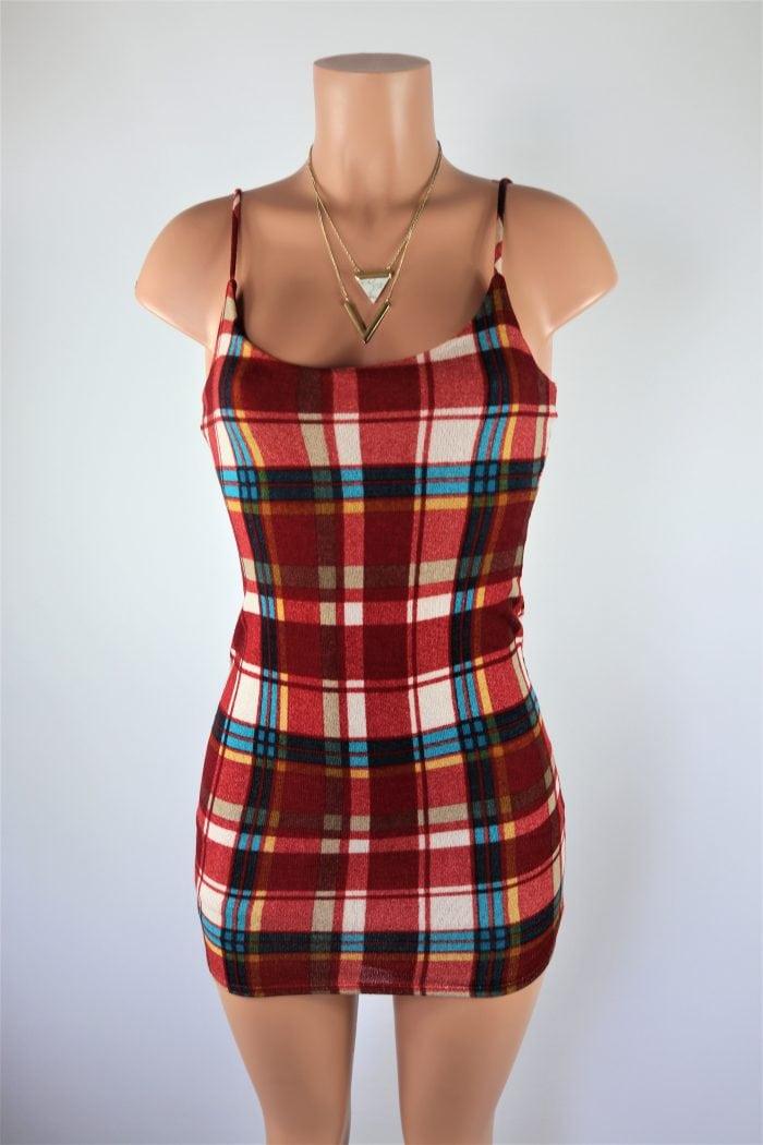 Checkered Past Dress