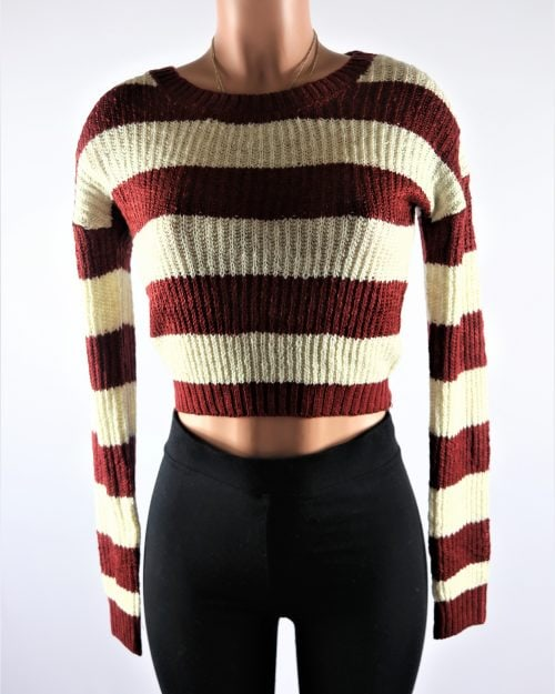 Gordon Crop Sweater