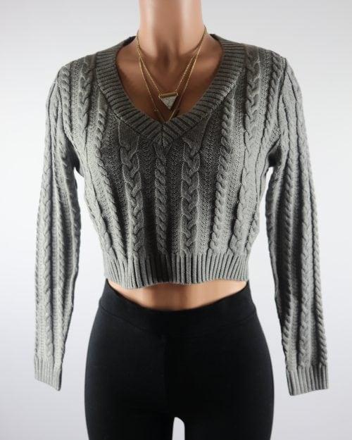 Maud Crop Sweater