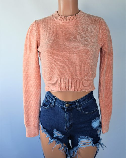 Shelly Crop Sweater