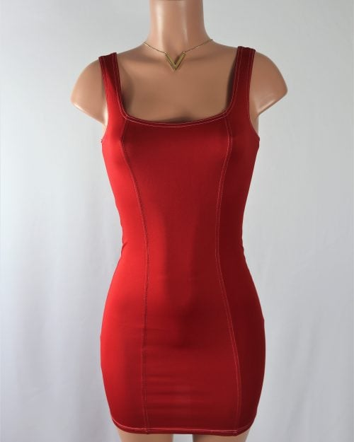 Slinky Mini Dress