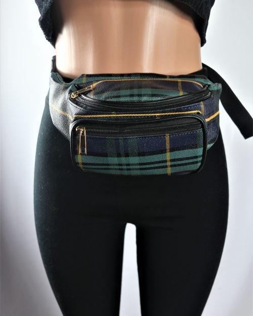 Plaid Bum Bag