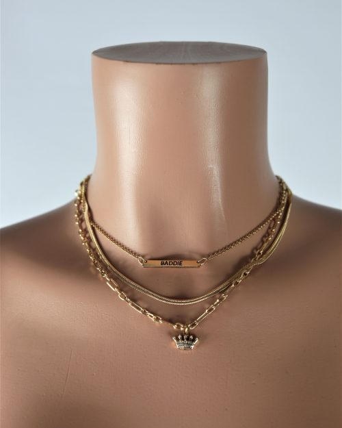 Queen Baddie Necklace