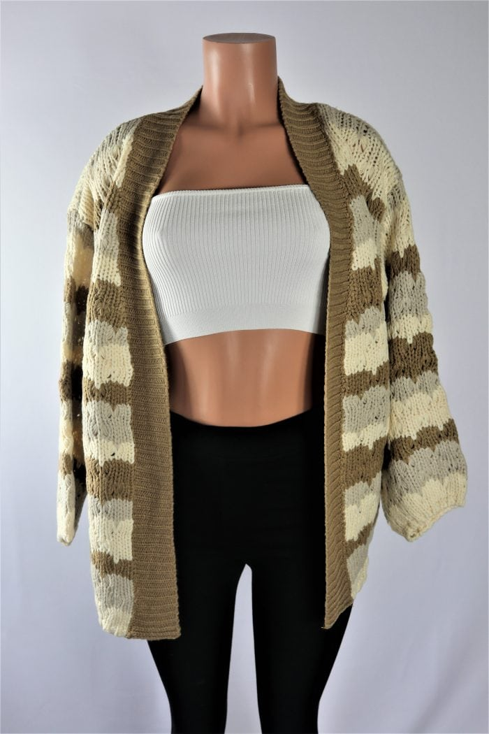 Free Fall Boxy Cardigan
