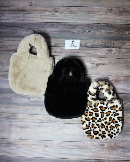Faux Fur Mini Tote bag