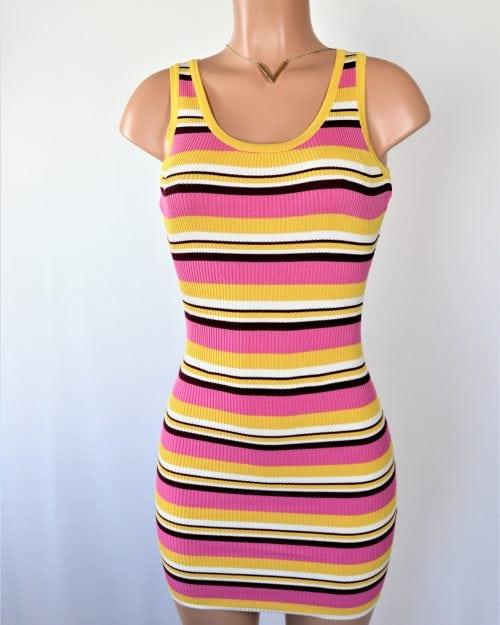 Lola Ribbed Dress