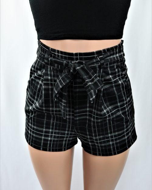 Leah Plaid Shorts