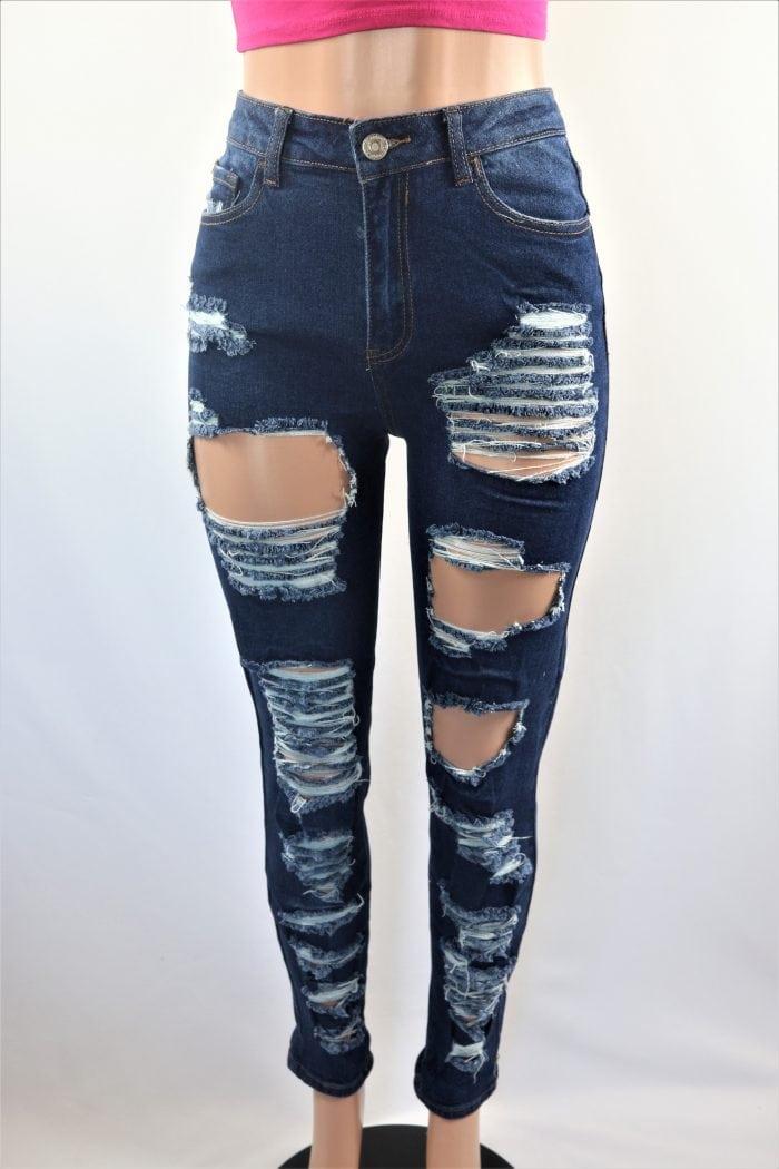 Brian Ripped Boyfriend Jeans