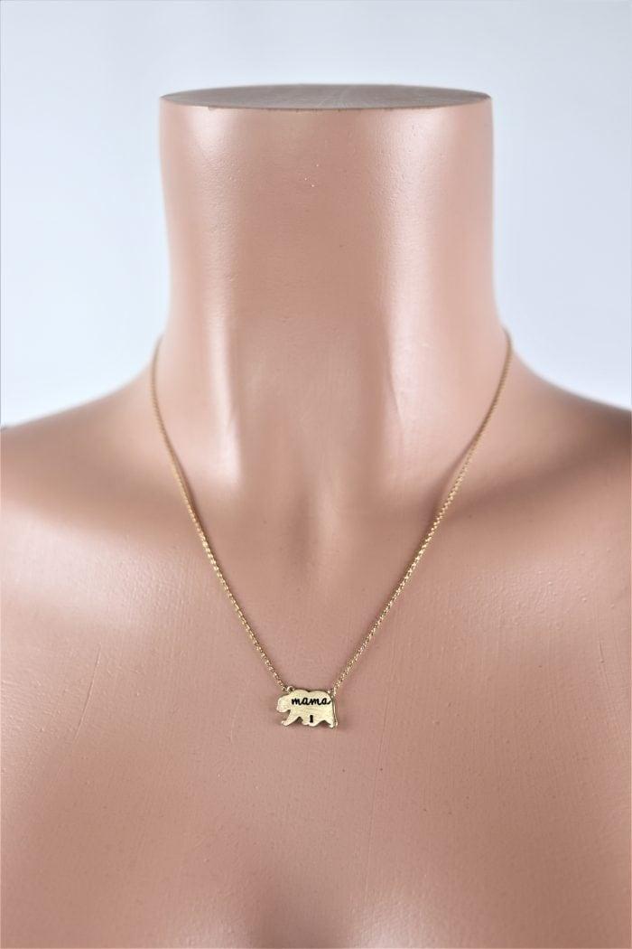 Mama Bear Necklace