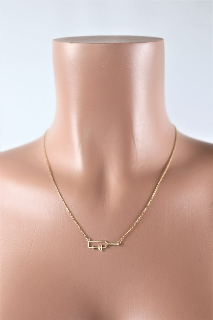 Wine Time Necklace