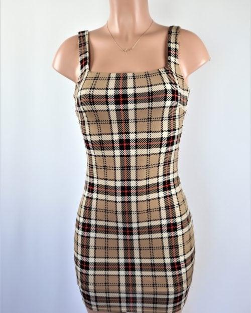 Nicely Plaid Dress