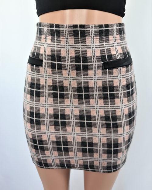 Check for Me Skirt