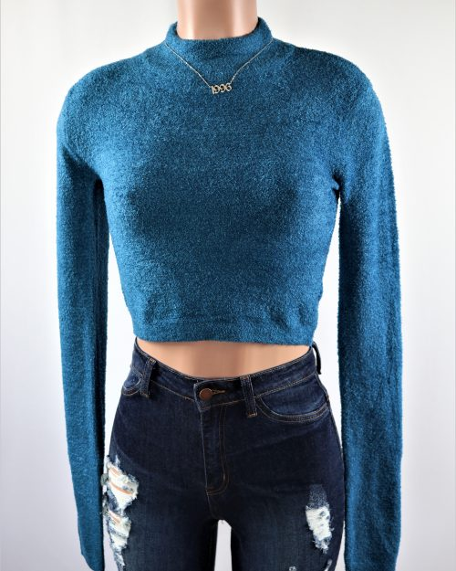 Gabbie Crop Sweater Top