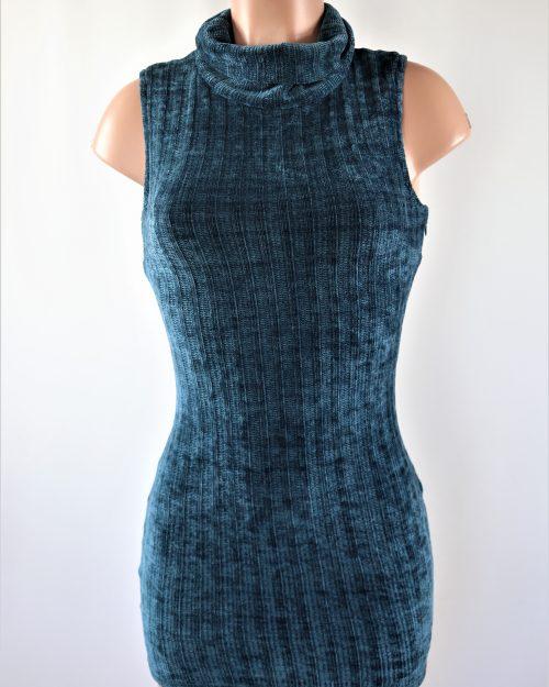 Knitted Velvet Dress