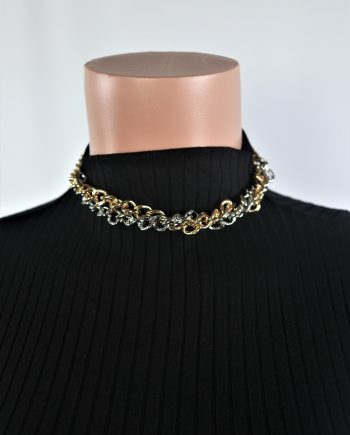 Twisted Choker Necklace