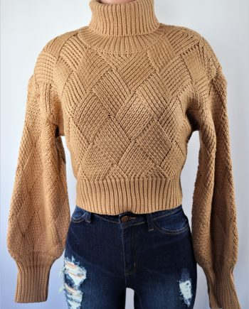 Sierra Crop Sweater