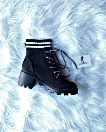 Varsity Socks Booties