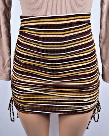 Kailah Ruche Skirt