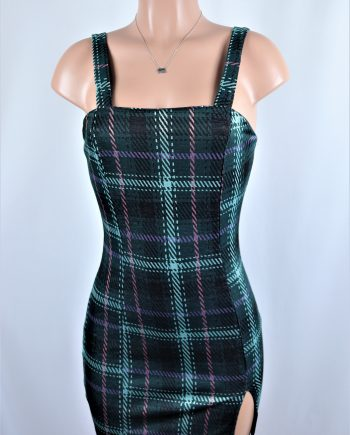 Quinn Plaid Dress
