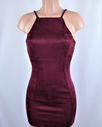 Jemmye Suede Dress