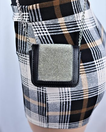 Mini Rhinestone Crossbody Bag