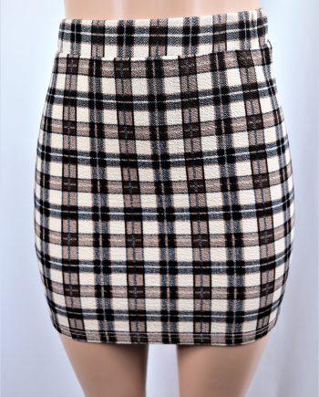 Vivian Plaid Skirt