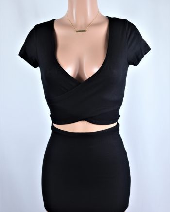 Last Nerve Skirt Set